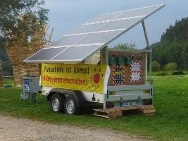 Anti-AKW Solaranhänger