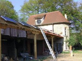 Haus mit Solar Inselanlage in Frankreich
